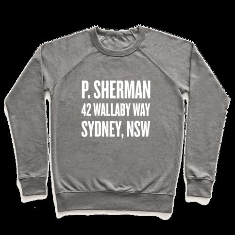 P. Sherman 42 Wallaby Way Sydney Pullover