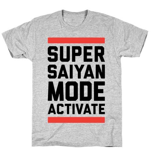 Super Saiyan Mode Activate T-Shirt