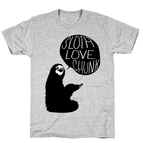 Sloth Love Chunk T-Shirt