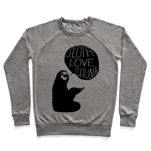 Sloth Love Chunk Pullover