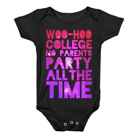 College Baby Onesy