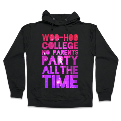 College Hooded Sweatshirt