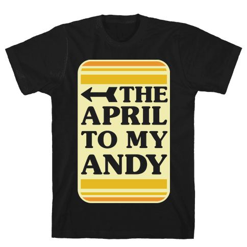 The April to My Andy Mens T-Shirt