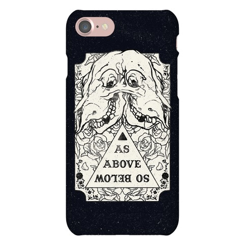 As Above So Below Phone Case