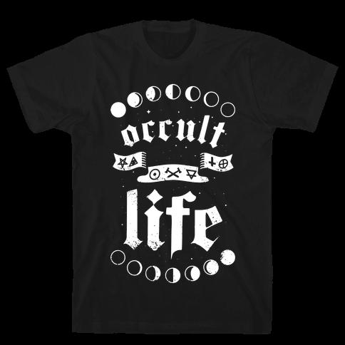 Occult Life Mens T-Shirt