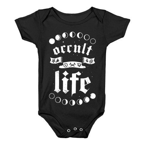 Occult Life Baby Onesy