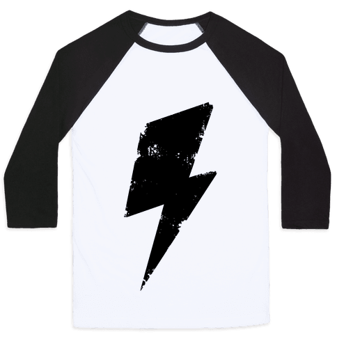 Lightning Bolt Baseball Tee