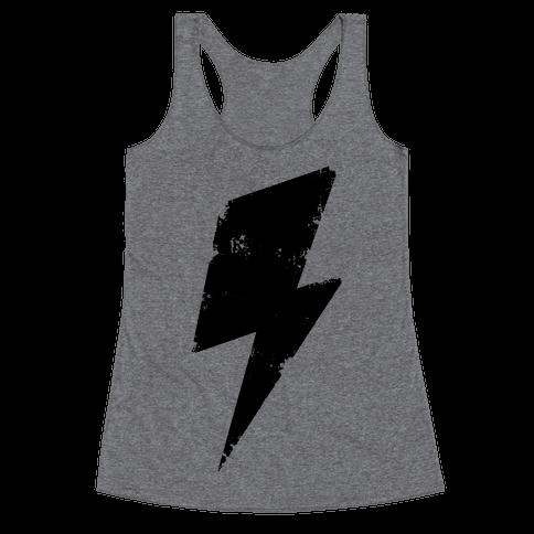 Lightning Bolt Racerback Tank Top