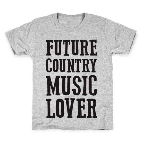 Future Country Music Lover Kids T-Shirt
