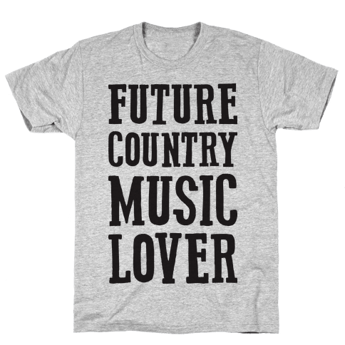 Future Country Music Lover Mens T-Shirt