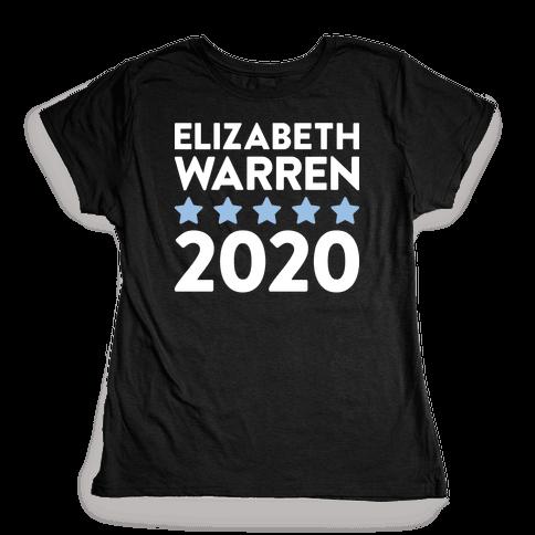 Elizabeth Warren 2020 Womens T-Shirt