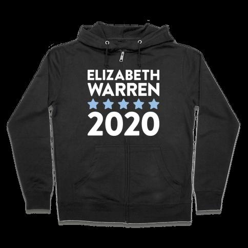 Elizabeth Warren 2020 Zip Hoodie