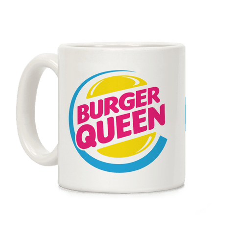 Burger Queen Coffee Mug
