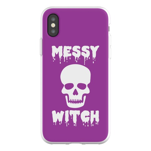 Messy Witch Phone Flexi-Case