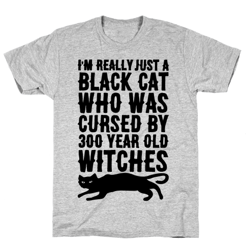 I'm Really Just A Black Cat Mens T-Shirt