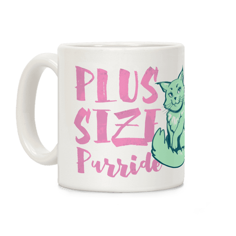 Plus-Size Purride Coffee Mug