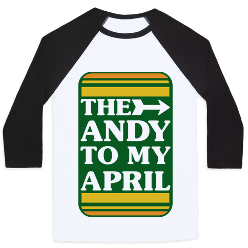 The Andy to My April Baseball Tee