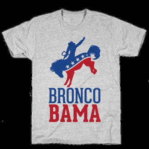 Bronco Bama Mens T-Shirt
