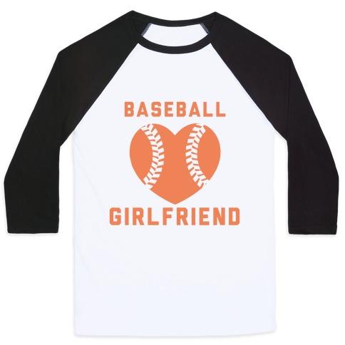 Baseball Girlfriend Baseball Tee