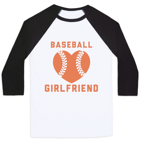 Baseball Girlfriend Baseball Tee