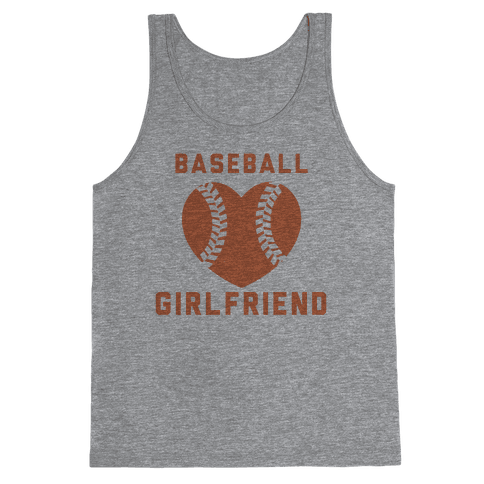 Baseball Girlfriend Tank Top