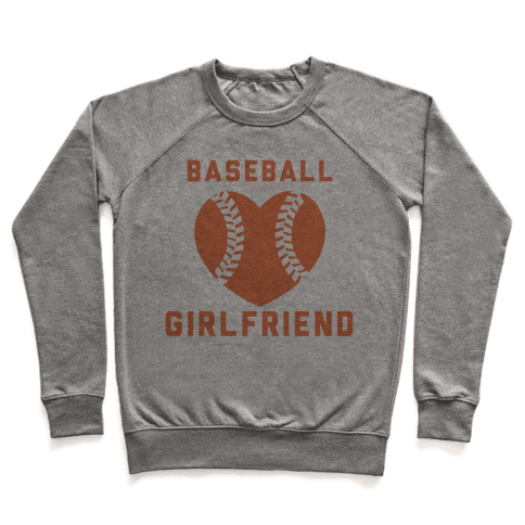 Baseball Girlfriend Pullover