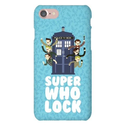 Superwholock Phone Case