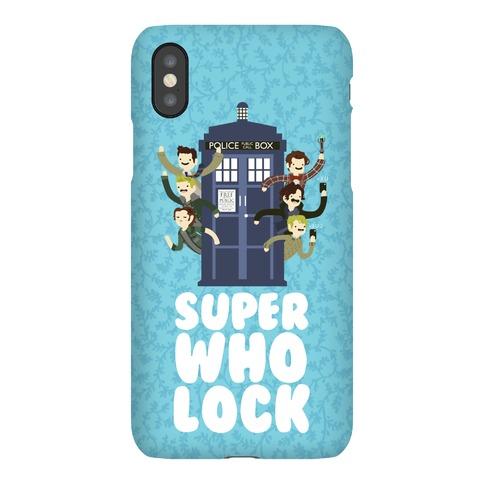 Superwholock Phone Case