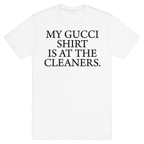 My Gucci Shirt Mens T-Shirt
