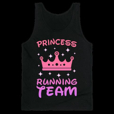 Princess Running Team (sunset) Tank Top