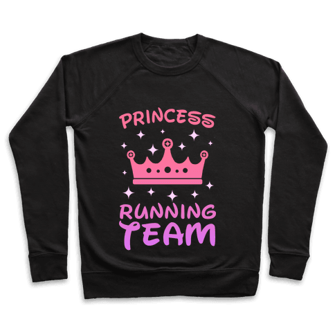 Princess Running Team (sunset) Pullover
