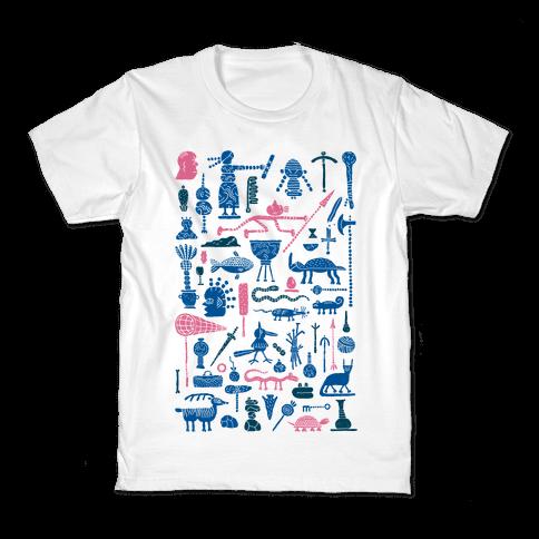 Ancient Tools Kids T-Shirt