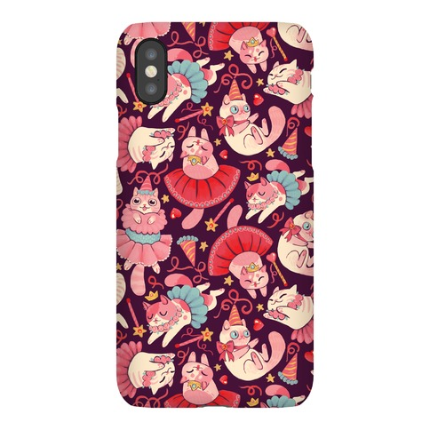 Cute Princess Cat Pattern Phone Case