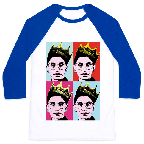RBG Pop Art Baseball Tee