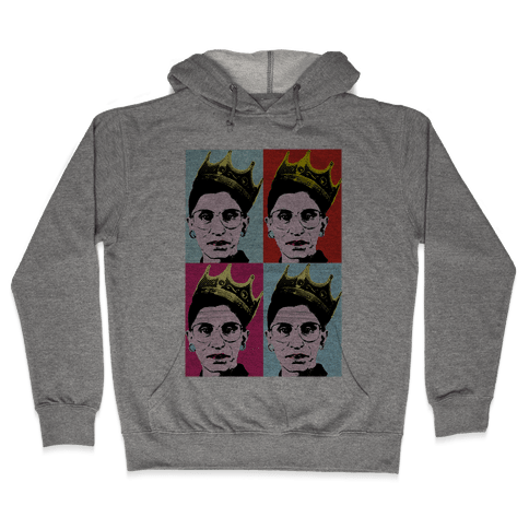 RBG Pop Art Hooded Sweatshirt