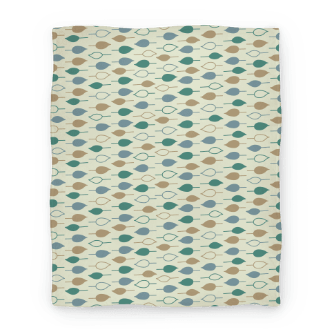 Leaf Pattern Blanket Blanket