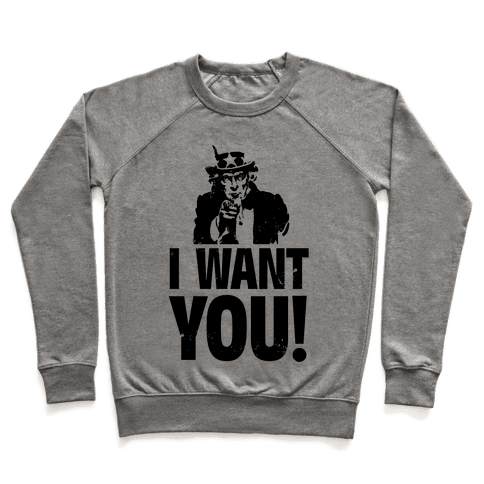 I Want You! Pullover