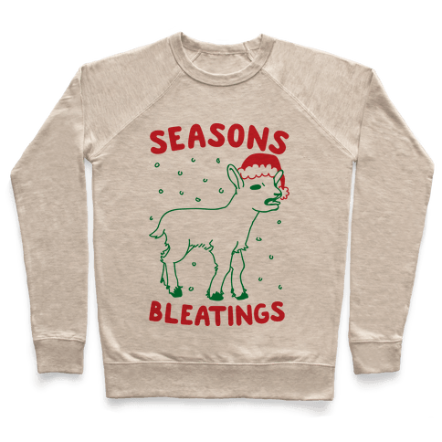 Seasons Bleatings  Pullover