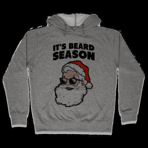 It's Beard Season (Santa) Hooded Sweatshirt