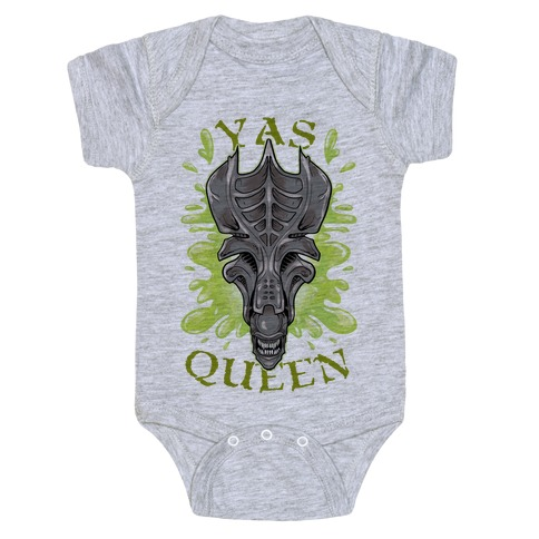 Yas Queen Xenomorph Baby One-Piece | LookHUMAN
