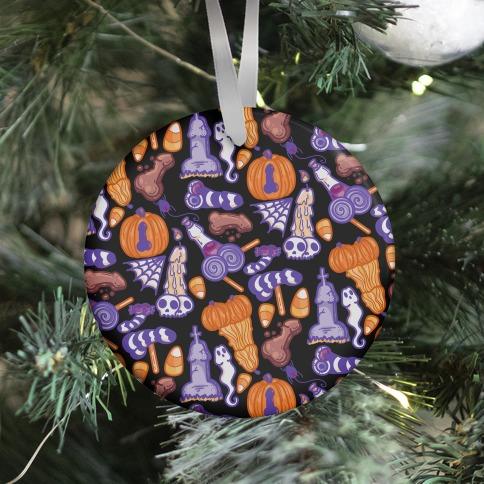 Halloweenies Pattern Ornament