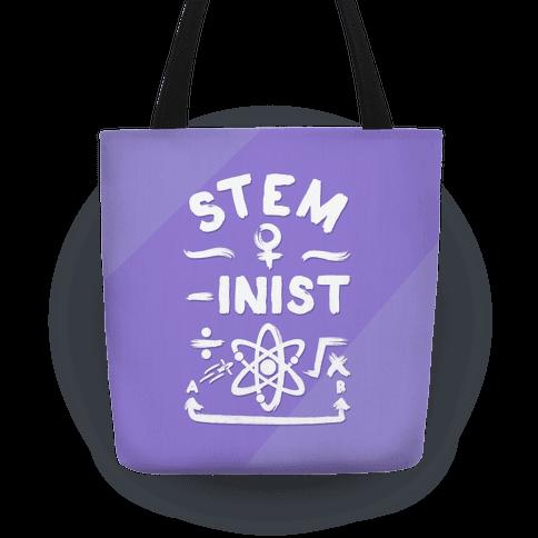 STEM-ininst (STEM Field Feminist) Tote