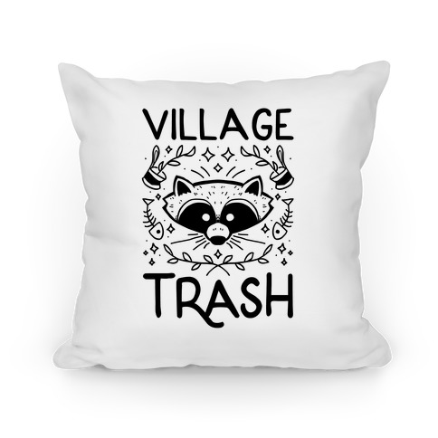 Village Trash Pillow