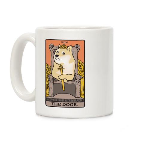 The Doge Tarot Parody Coffee Mug