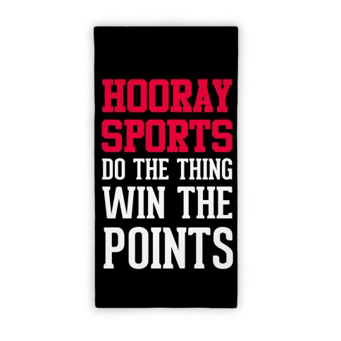 Hooray Sports Towel Beach Towel