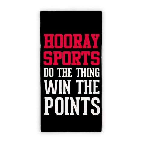 Hooray Sports Towel