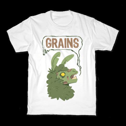 Zombie Llama Kids T-Shirt