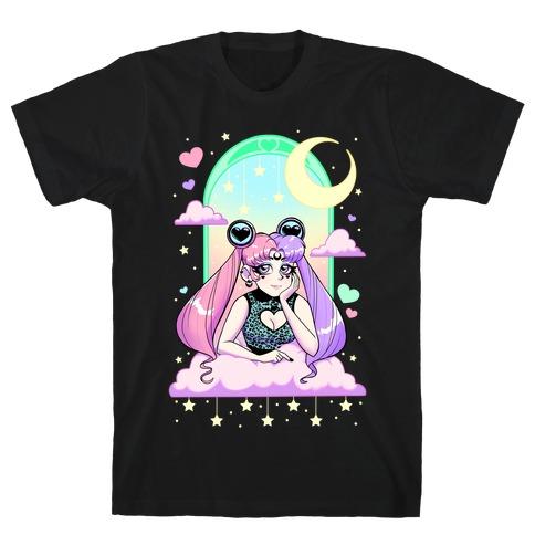 Dreamy Pastel Goth Usagi T-Shirt