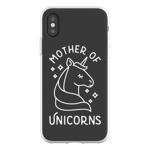 Mother Of Unicorns Phone Flexi-Case