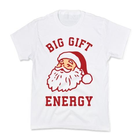 Big Gift Energy Kids T-Shirt